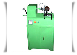 Ceiling Fan Stator Coil Winding Machine, Manual, Motorised, Twin