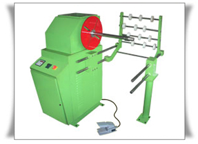 Heavy Duty Motor Coil Winding Machine, Winding Coils From 2 HP to 200, 400 HP, Fitted With Bmu, Heavy Duty Tensioner For Motor Winding Machine, Mumbai, India